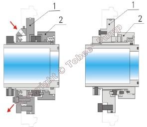 Tobee TG18x16TU Dredging Slurry Pump Mechanical seal