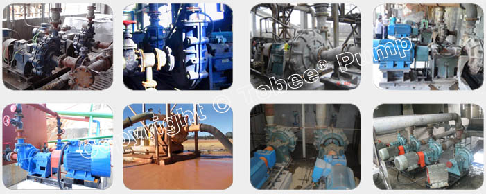 Tobee TJ China Slurry Pumps Applications