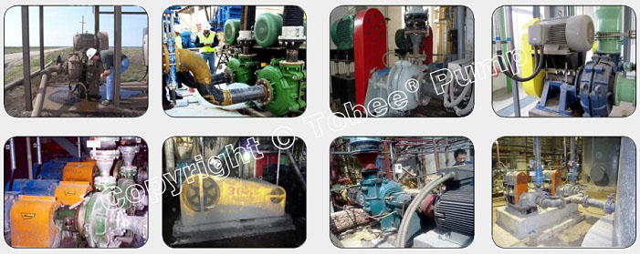 Tobee THR » Warman AHR Rubber Slurry Pumps On-site Applications