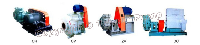 Tobee THR » Warman AHR Rubber Slurry Pumps Driven Type