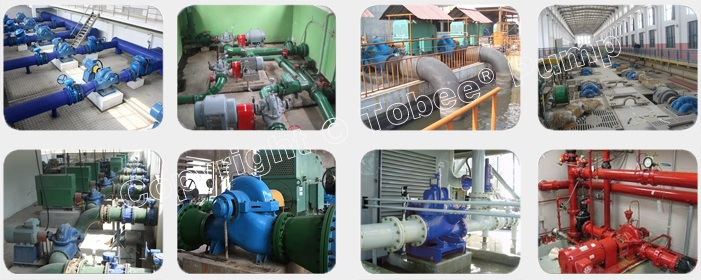 Tobee TSH Large Irrigation Pump On-site Applications
