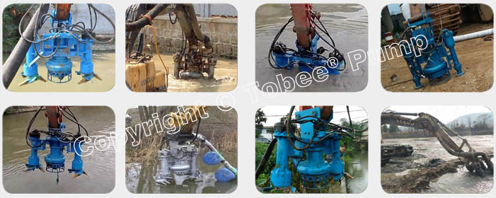 Tobee TQSY Hydraulic Dredge Pumps On-site Applications