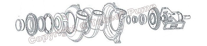 Tobee WN700 Marine Dredge Pump Structural Design