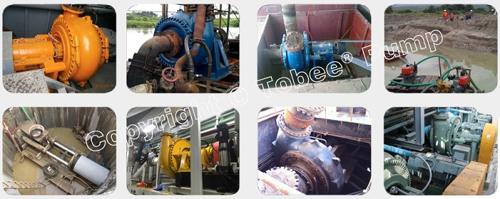 Tobee 8x6 Sand Gravel Pump On-site Applications