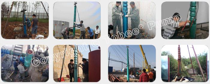 Tobee TSJ Stainless Steel Deep Well Pump On-site Applications