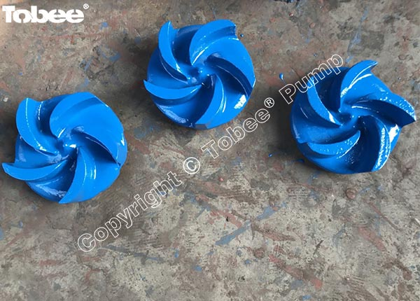 Semi-open Type Slurry Pump Impellers
