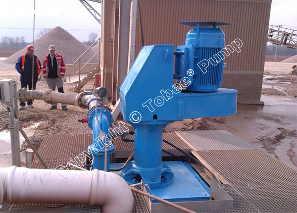 Vertical Slurry Pump Installation