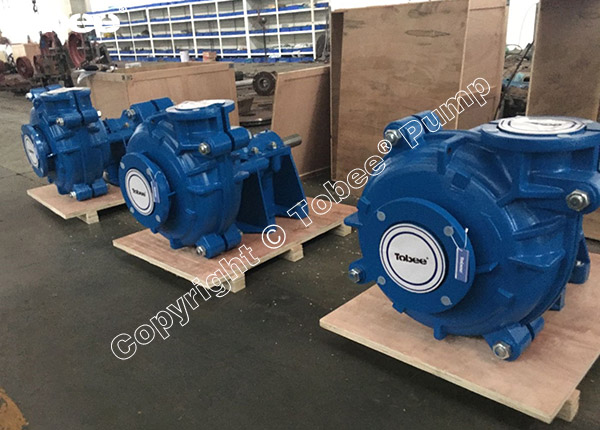 Rubber Lined Slurry Pump 6x4