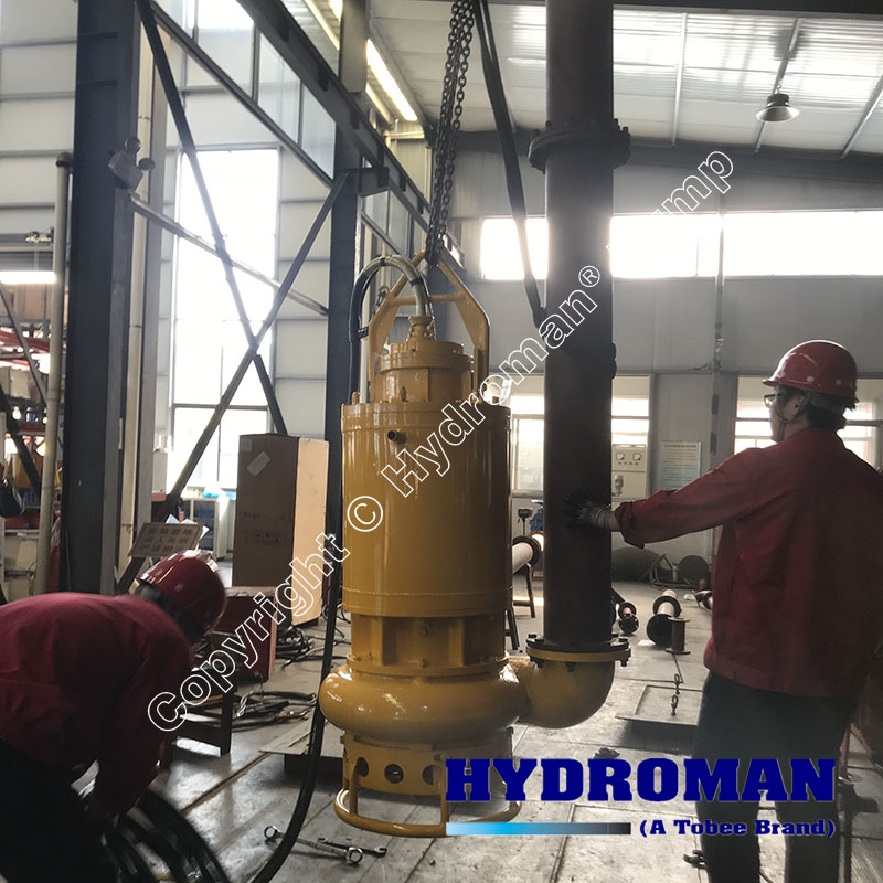 Submersible Slurry Pump Operation
