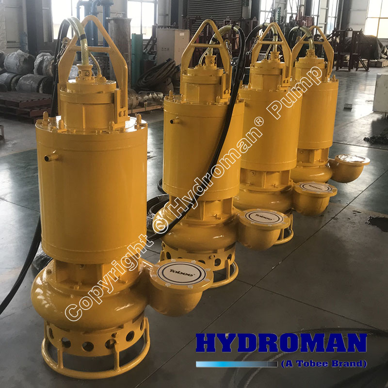 Submersible Slurry Pumps with Dry Chamber