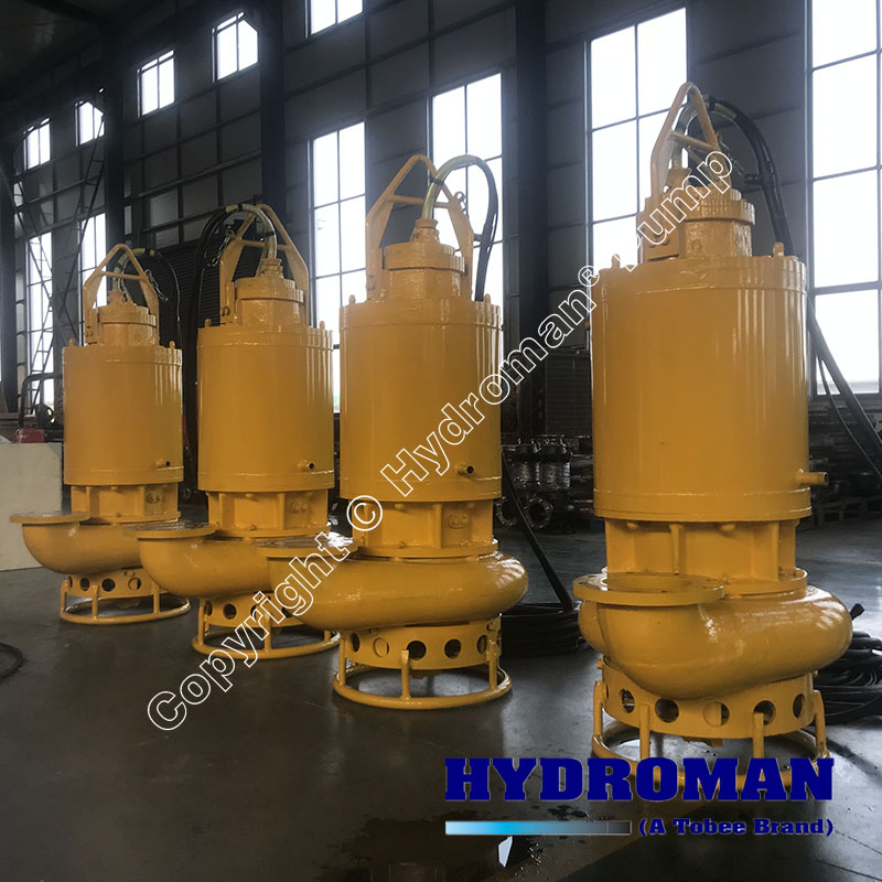 Submersible Slurry Pumps with Dry Operation