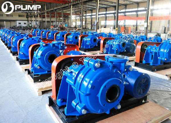 Tobee Rubber Lined Slurry Pumps