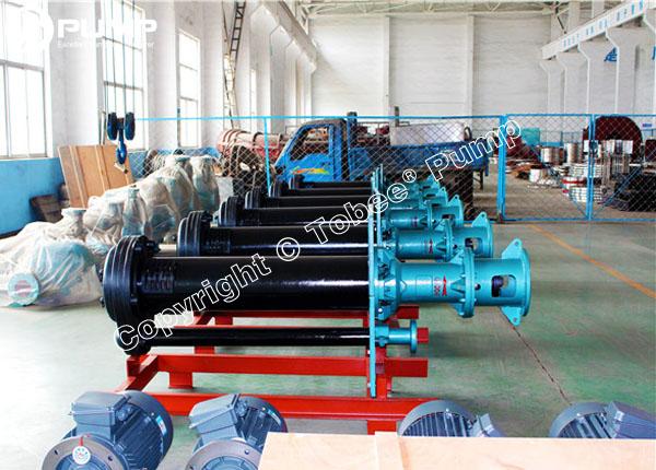 Warman SPR Rubber Vertical Slurry Pumps
