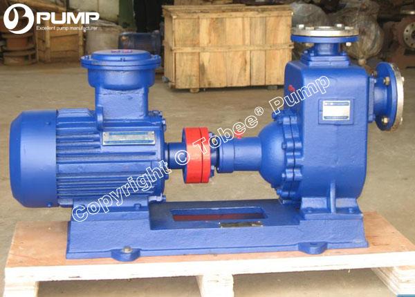 Self-priming Oil Pump