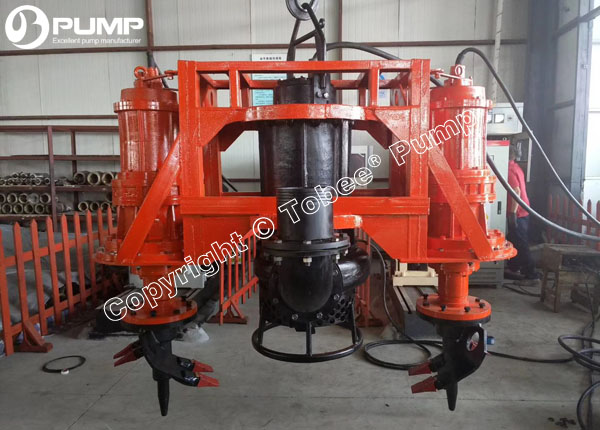 China Submersible Dredge Pumps with Cutters