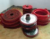 Slurry Pump Polyurethane Parts Characteristics
