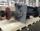 Tobee® TPR150SV Vertical Slurry Pump Rubber lined is Ready for Shipment