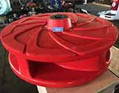 FAM12147U38 Polyurethane Slurry Pump Impellers