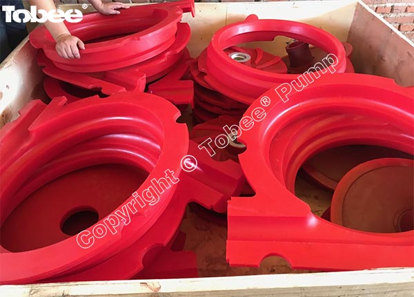 Polyurethane Parts for Warman Pumps